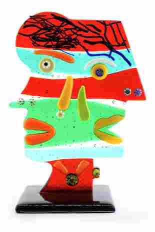 Murano glass Picasso sculpture