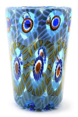 Murano glass goto murrine signed