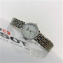 TISSOT Mother of Pearl Diamond Studded Women's Watch