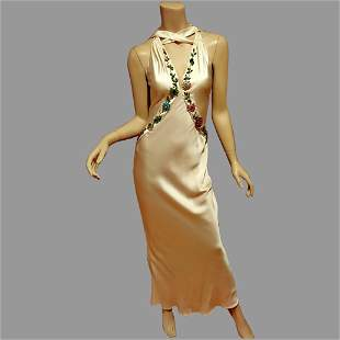 Vtg Emanuel Ungaro Paris. Couture silk 90's Doing 30's