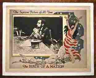 Birth Of A Nation - D.W. Griffith - Abraham Lincoln