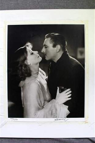 John Barrymoore and Greta Garbo by George Hurrell