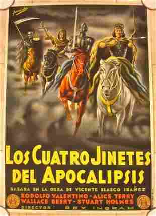 Four Horsemen Of The Apocalypse - R25 Sp. Poster -