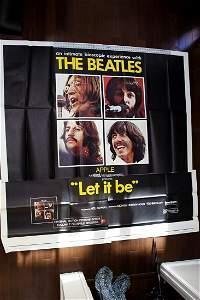 The Beatles - Let It Be (1970) US 3 SH Movie Poster