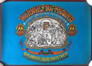 Family Dog Presents - Original 1967 Concert Poster -
