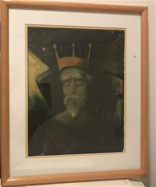 Contemporary painting   King Lear Shakespeare