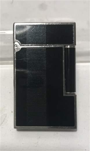 Dupont silver enamel lighter   007 James Bond Edition