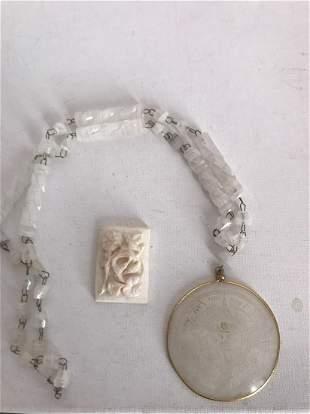 2 pcs Chinese jewelry items