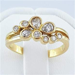 18K Yellow Gold - Ring