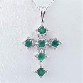 14K White Gold - Necklace