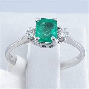 18K White Gold - Ring