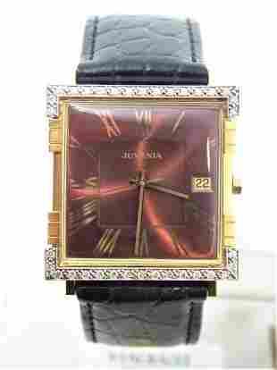 NEW 18K Gold JUVENIA MACHO Unisex AUTOMATIC Watch