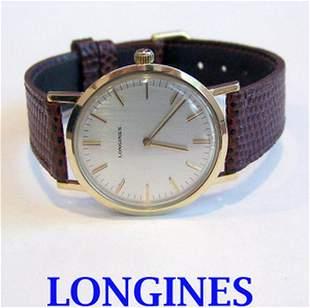 Solid 14k LONGINES Winding Watch c.1970s* EXLNT