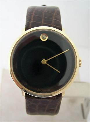Vintage Solid 14k MOVADO by ZENITH Winding Watch 1406