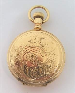 Antique 14K Gold CAMDEN Ladies Pocket watch c.1920s