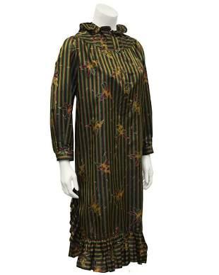 Laura Biagiotti Multicolored Striped Dress