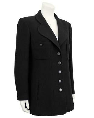 Chanel Black Wool Jacket