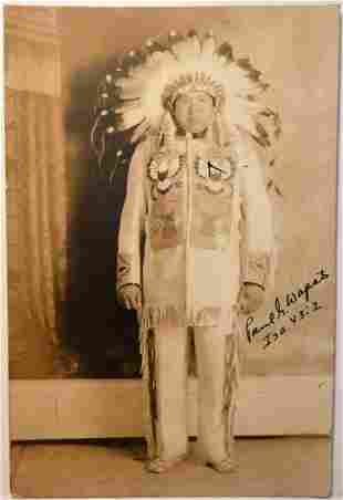 Paul G.Wapato - Wenatchee Native American Evangelist-