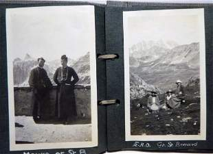 1923-24 Photo Album - Women Friends Tour Europe