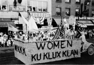 Women's Klu Klux Klan Parade