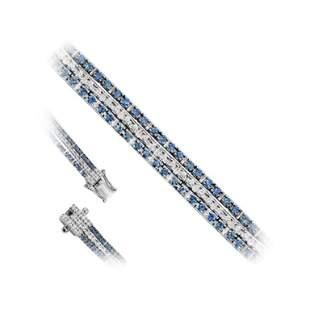 Fine Jewelry Diamond White Gold Tennis Bracelet