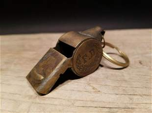 Fireman Fire Fighter Whistle F.D