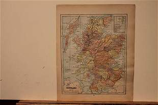 1886 Map of Scotland