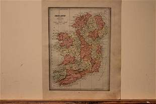 1886 Map of Ireland