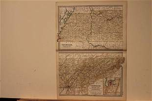 1902 Map of Tennessee
