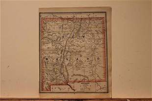 1886 Map of New Mexico