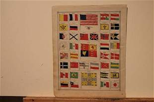 1888 Flags of Nations