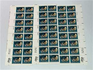 Scott No. 1485 3 each MNH Stamp Plate Block Set