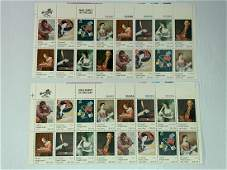 Scott No. 1530-37 2 each MNH Stamp Plate Block Set