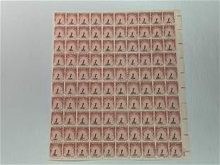 Scott No. J89 1 each MNH Stamp Mint Sheet