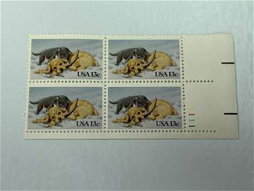 Scott No. 2025 1 each MNH Stamp Plate Block Set