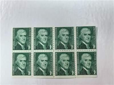 Scott No.1278 1 each MNH Stamp Plate Block Set