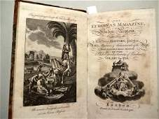1788 Volume European Magazine Engravings