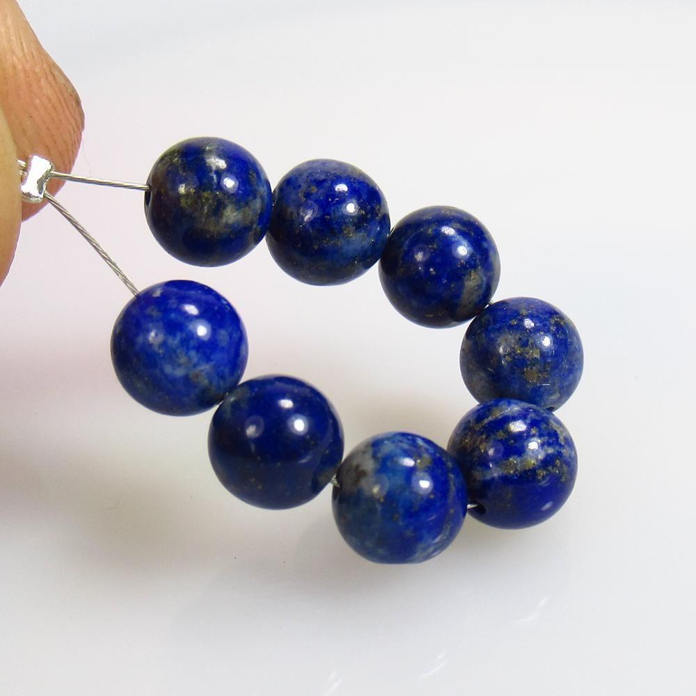 17.88 Ct Natural 8 Lapis Lazuli Drilled Round Ball