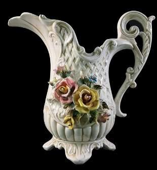 vintage Italian flower vase - jug - Vintage ceramics
