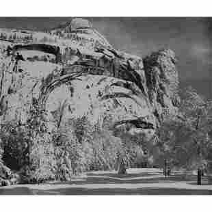 ANSEL ADAMS - North Dome, Royal Arches