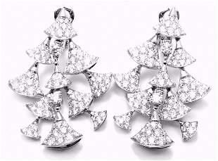 Authentic! Bulgari Bvlgari Diva's Dream 18k White Gold