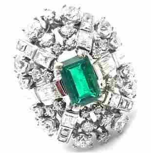 Rare! Authentic Vintage Tiffany & Co Platinum Diamond