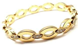 Rare! Authentic Cartier 18K Yellow Gold Diamond Diadea