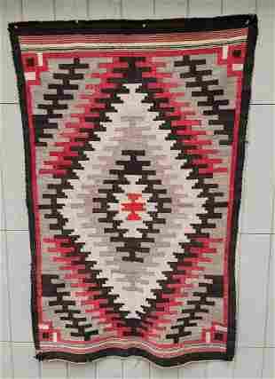 Bold Navajo regional rug ca 1920's or 30's