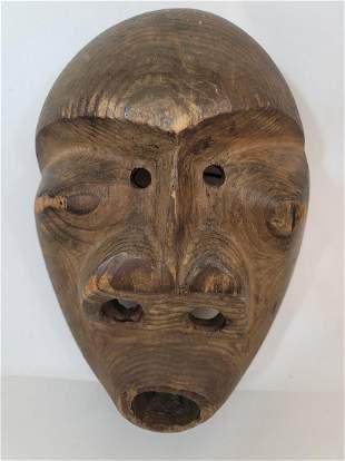 Early Eskimo mask. Late 19th century