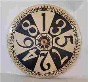 Monochromatic early game wheel ca 1930's