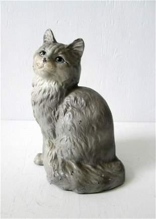 HUBLEY PERSIAN CAT DOORSTOP