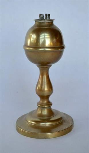 American Brass Whale Oil Lamp
