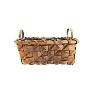 Tiny Double Handled Basket