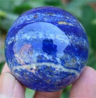 250 Grams Royal Blue Lapis Lazuli Sphere